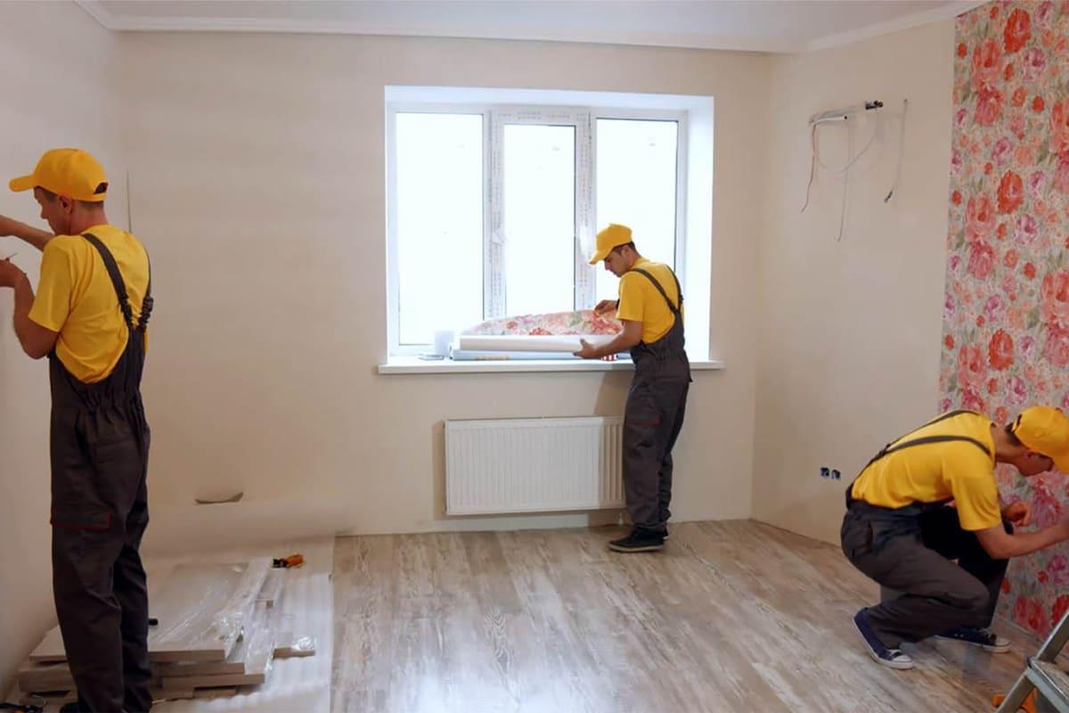 Косметический ремонт квартиры подрядчиком